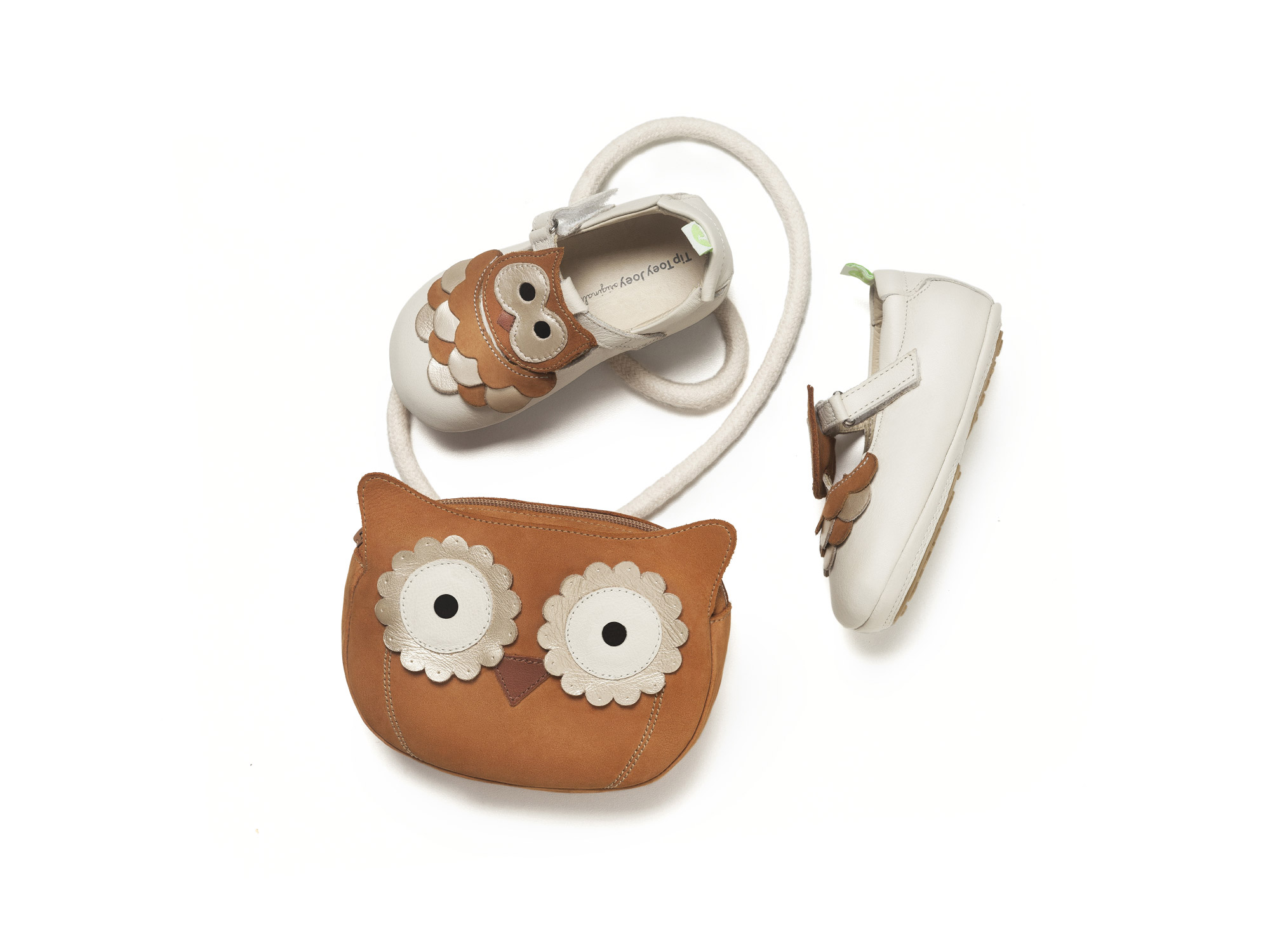Handbag Bag Owl Ochre Baby for ages 0 to 2 years - 4