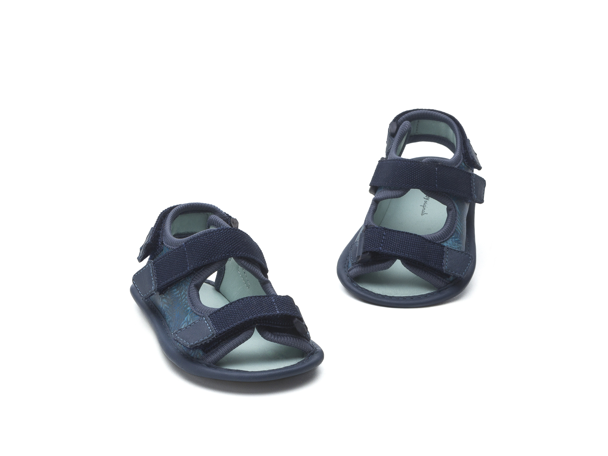 Sandal Boardy Blue Palm/ Rustic Blue Baby for ages 0 to 2 years - 2