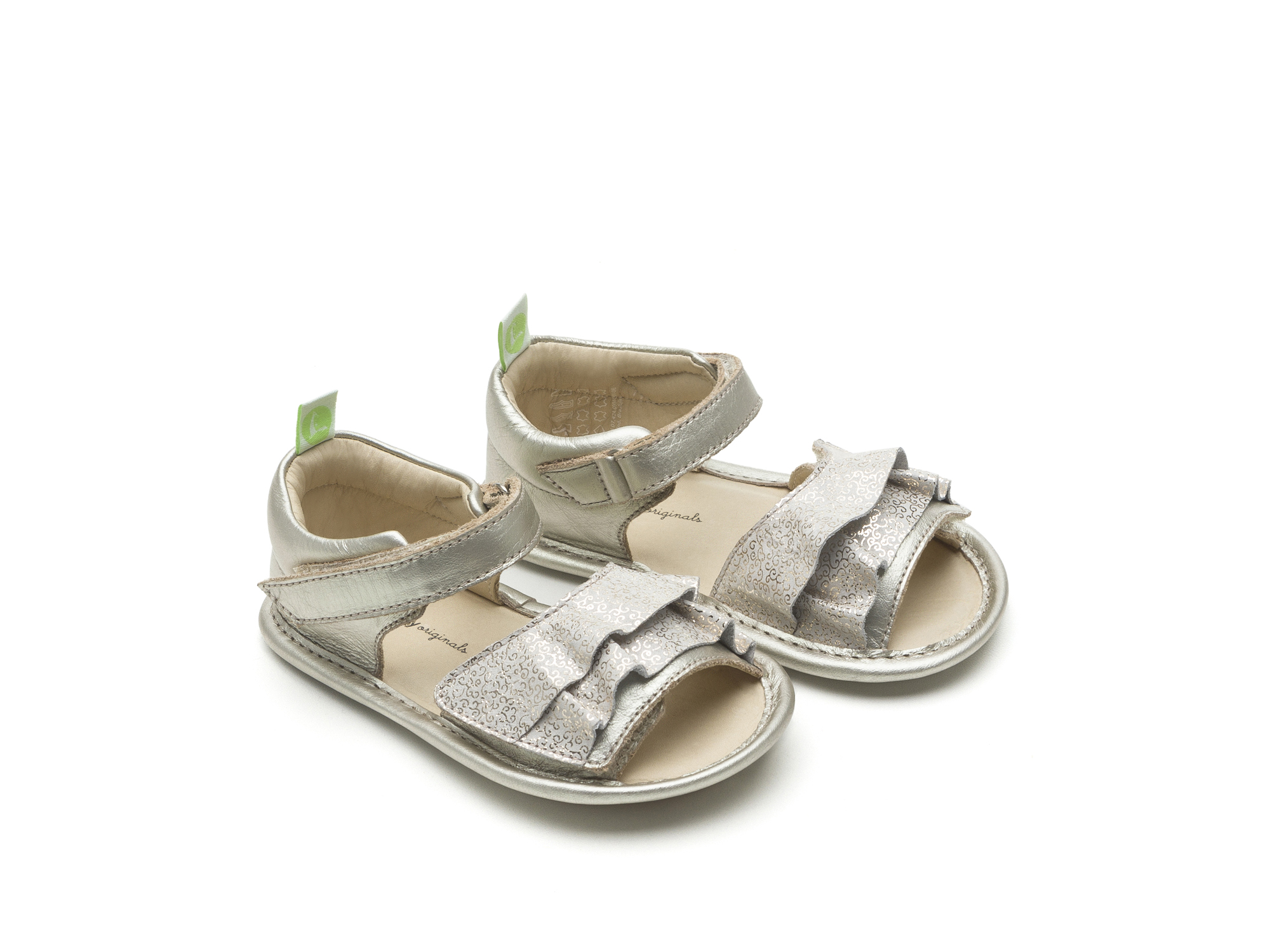 Sandal Windy Whitegold/ Golden Lace Baby for ages 0 to 2 years - 0