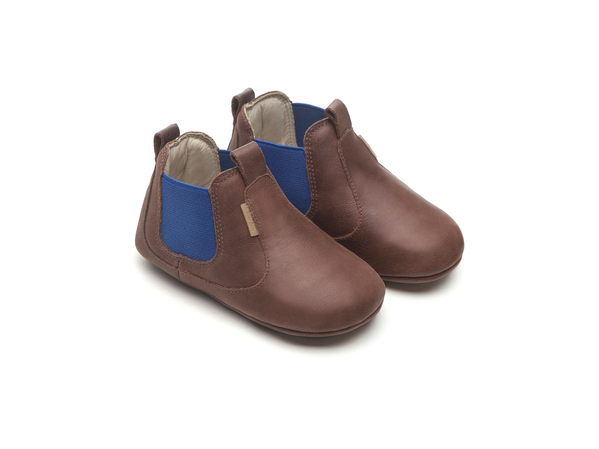 Boot Kicky Old Tan/ Royal Baby for ages 0 to 2 years - 0