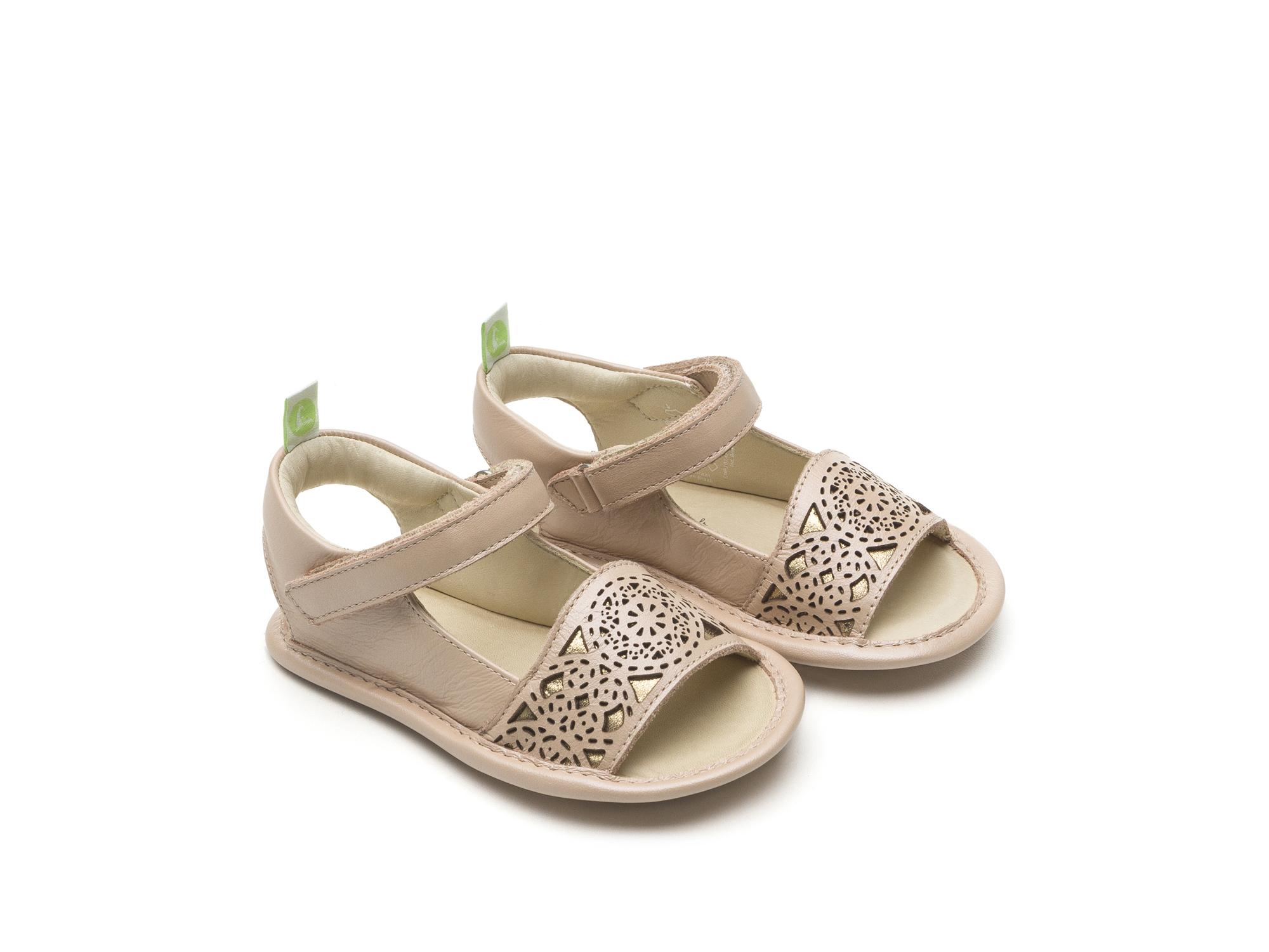 Sandal Mandaly Pink Perl/ Golden Shine Baby for ages 0 to 2 years - 0