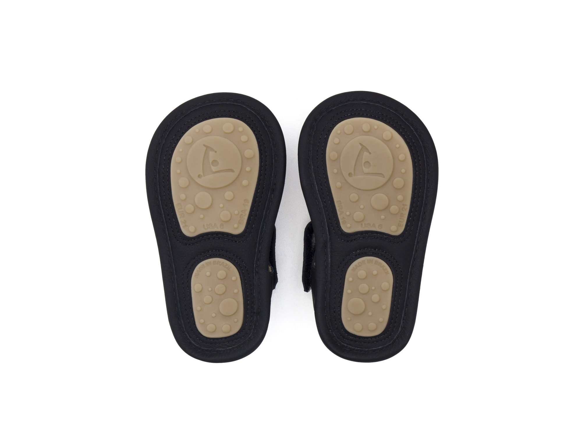 Sandal Folksy Black/ Tutti Frutti Baby for ages 0 to 2 years - 3