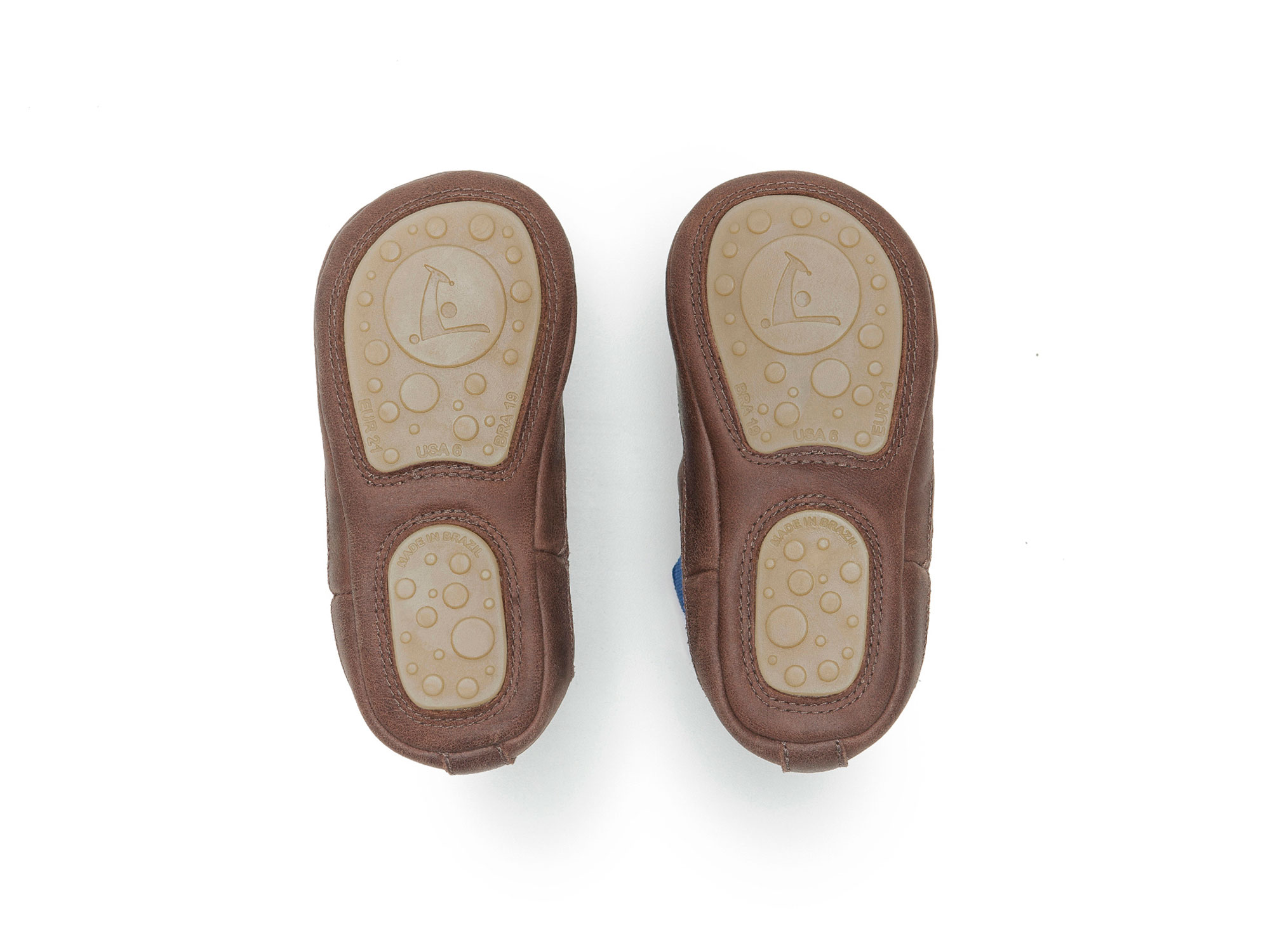 Boot Kicky Old Tan/ Royal Baby for ages 0 to 2 years - 3