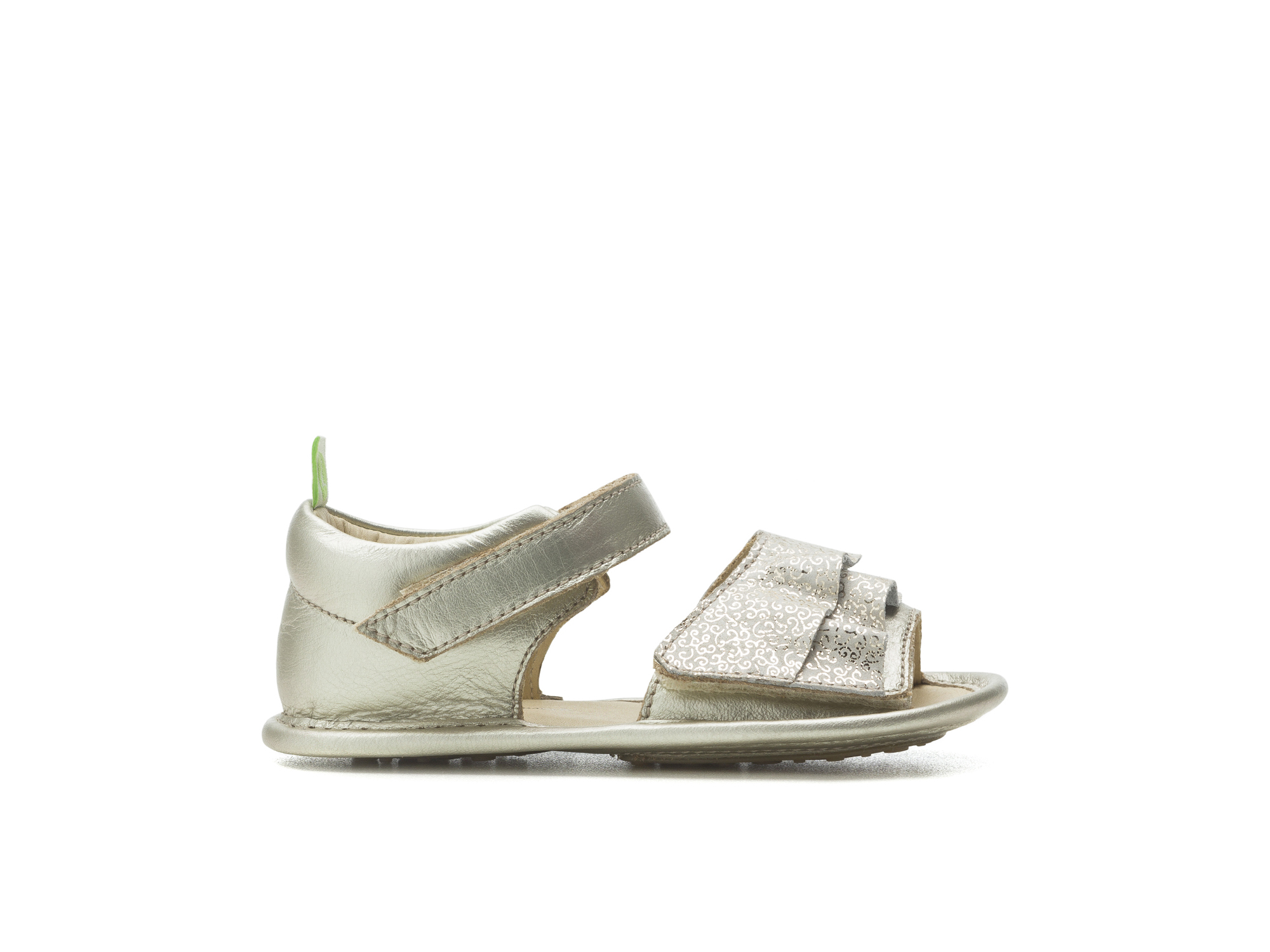 Sandal Windy Whitegold/ Golden Lace Baby for ages 0 to 2 years - 1