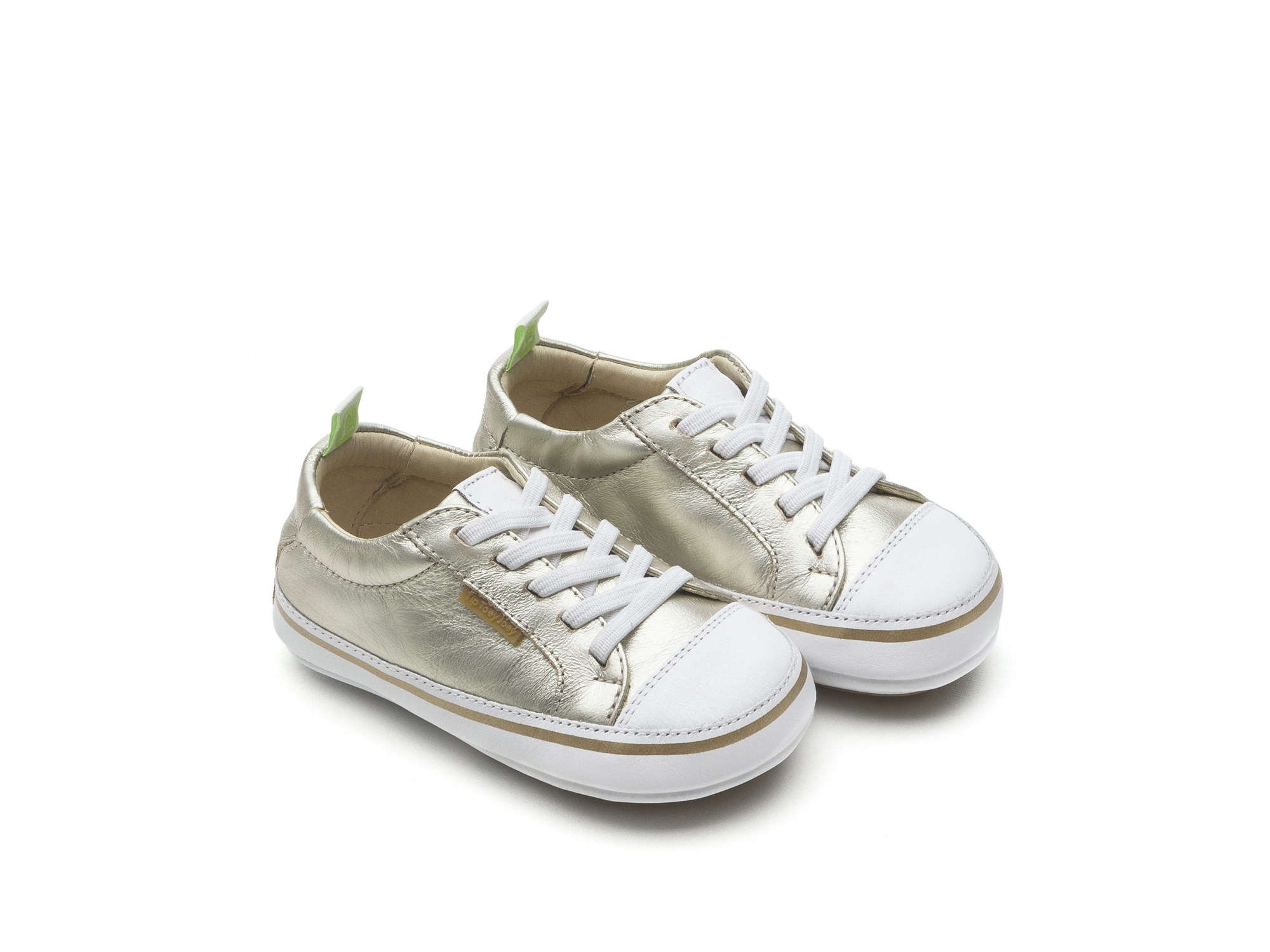 Tênis Funky Whitegold/ White Baby for ages 0 to 2 years - 0