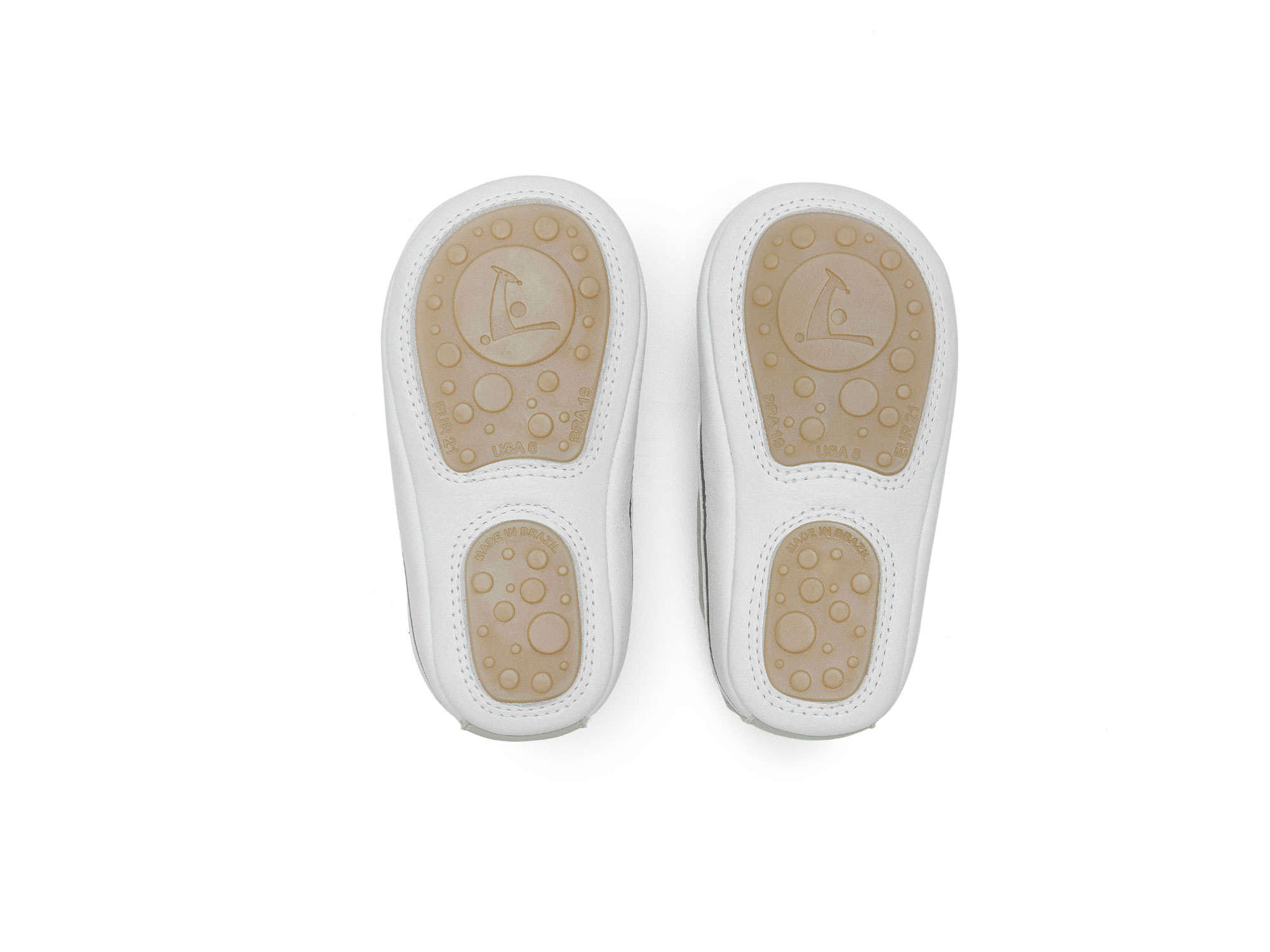 Tênis Urby Pumice/ White/ Ivory Suede Baby for ages 0 to 2 years - 3