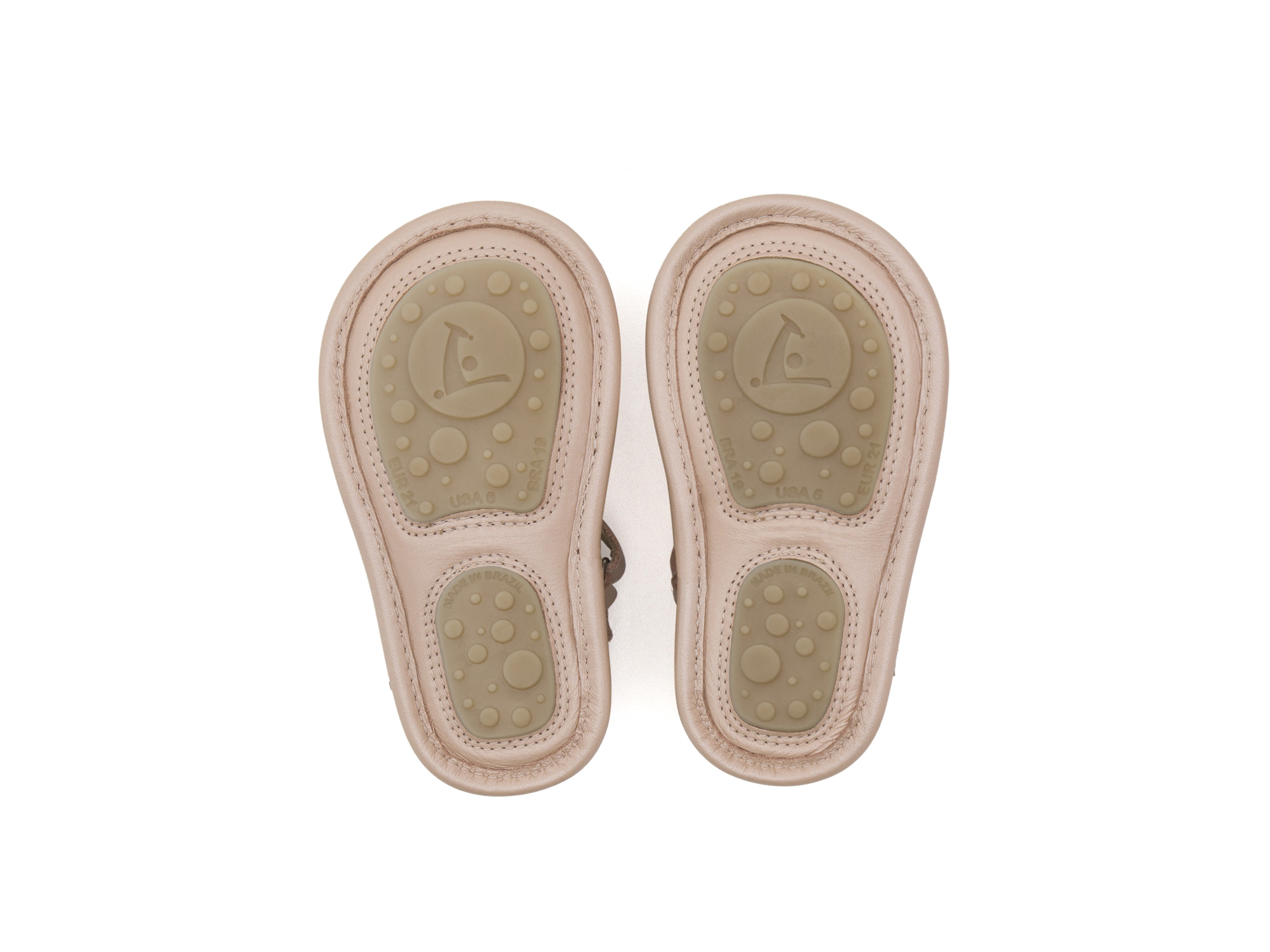 Sandal Mandaly Pink Perl/ Golden Shine Baby for ages 0 to 2 years - 3