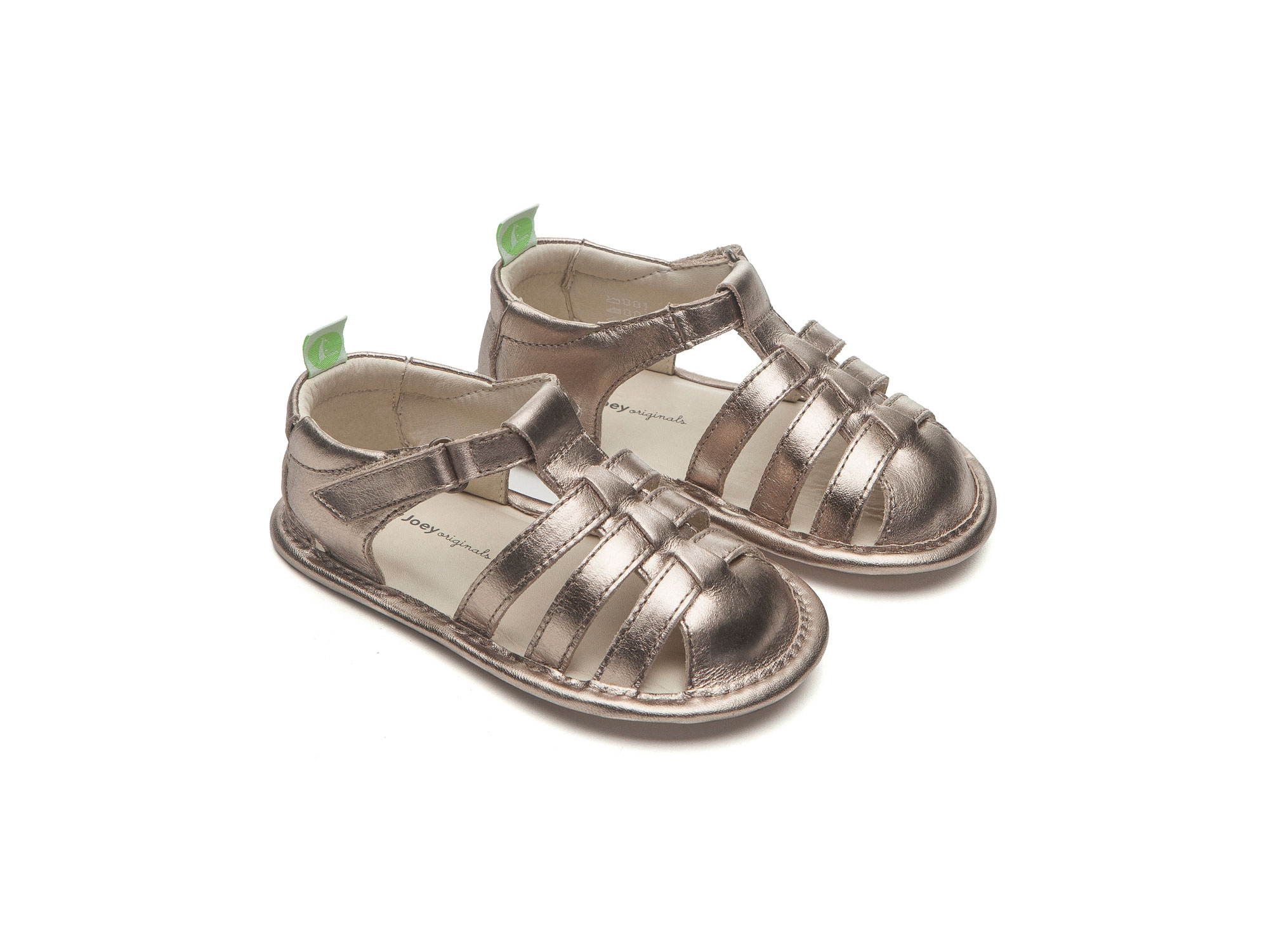 Sandal Minty Gold Sparkle  Baby for ages 0 to 2 years - 0