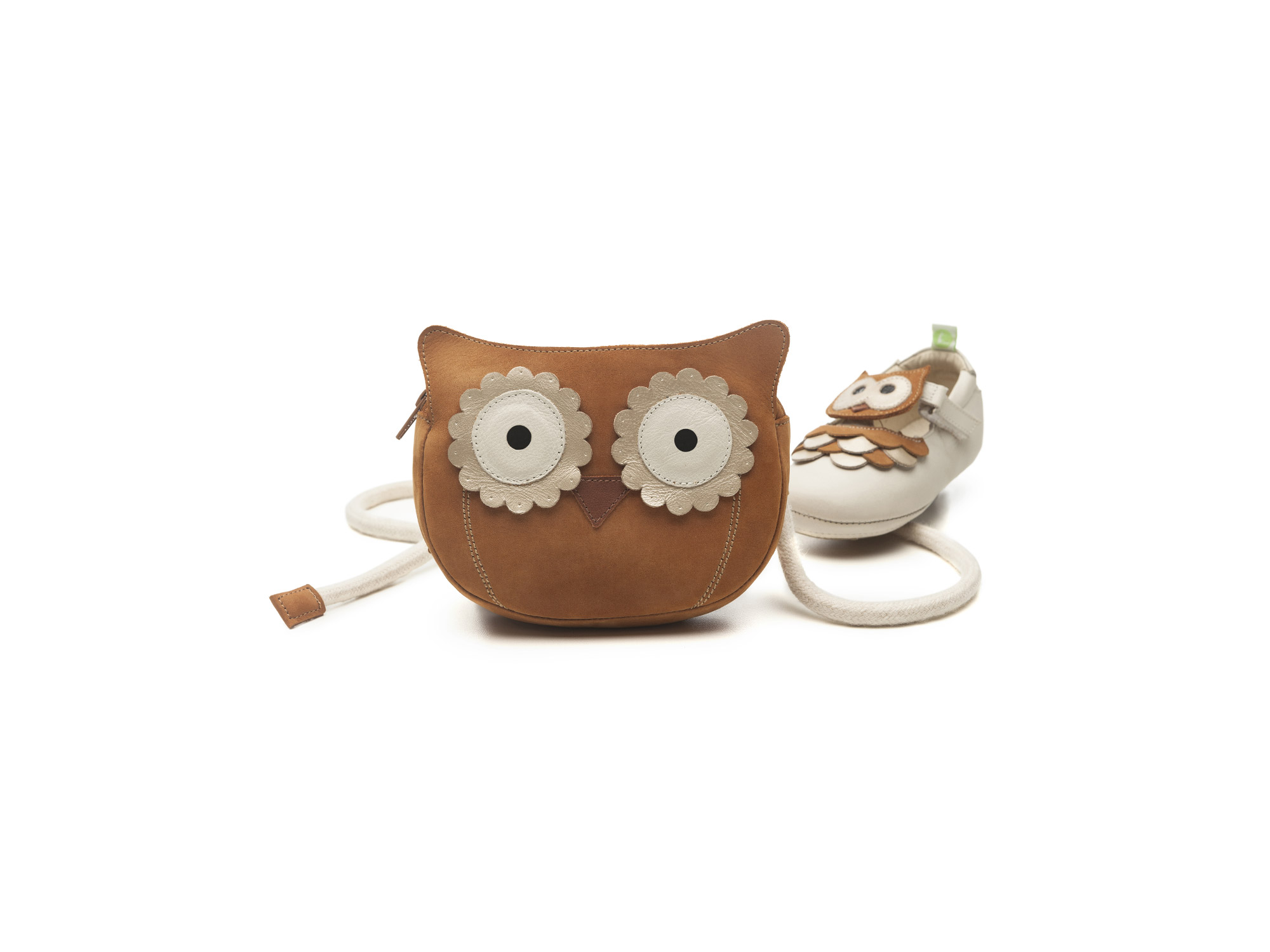 Handbag Bag Owl Ochre Baby for ages 0 to 2 years - 3