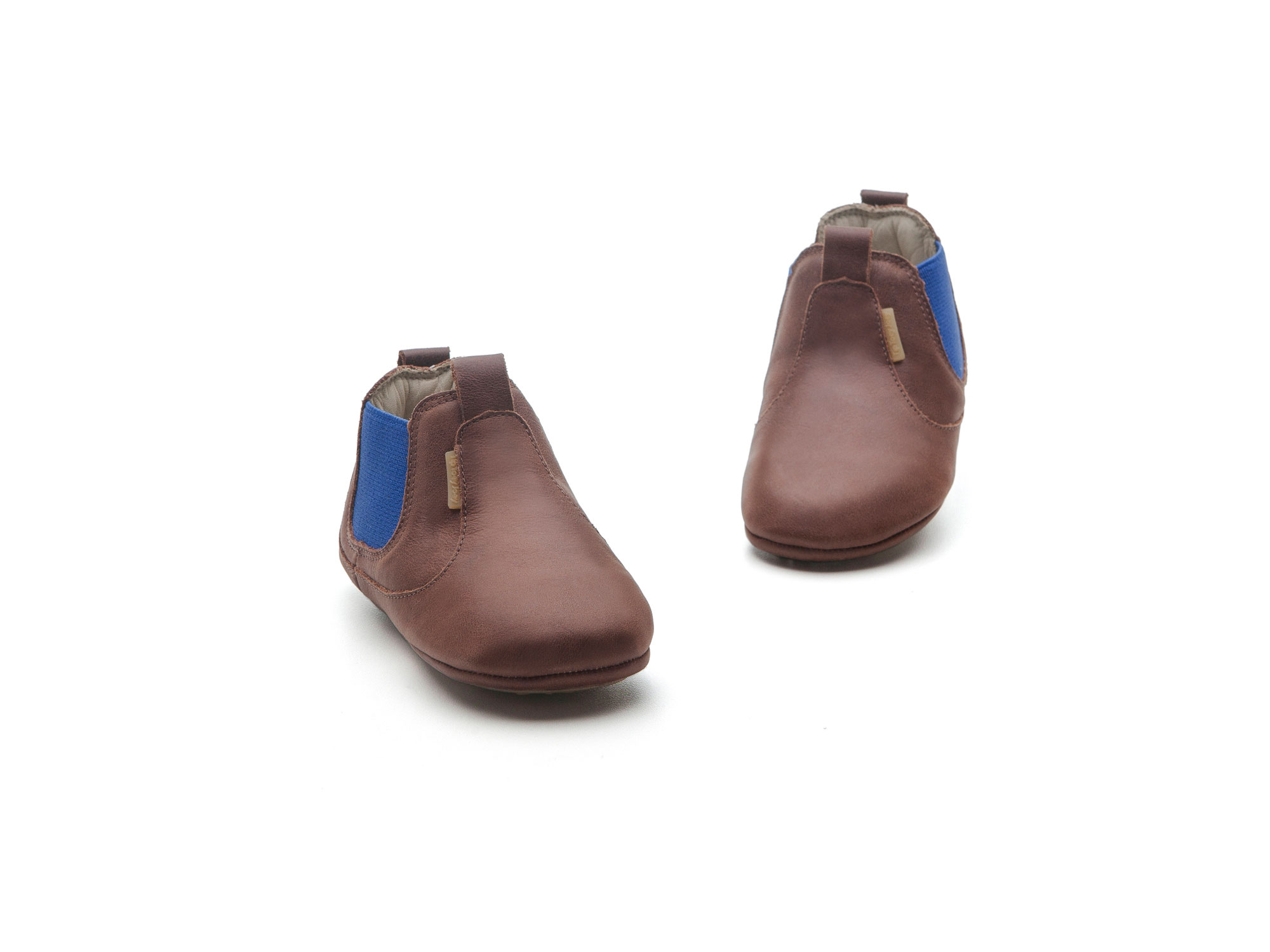 Boot Kicky Old Tan/ Royal Baby for ages 0 to 2 years - 1