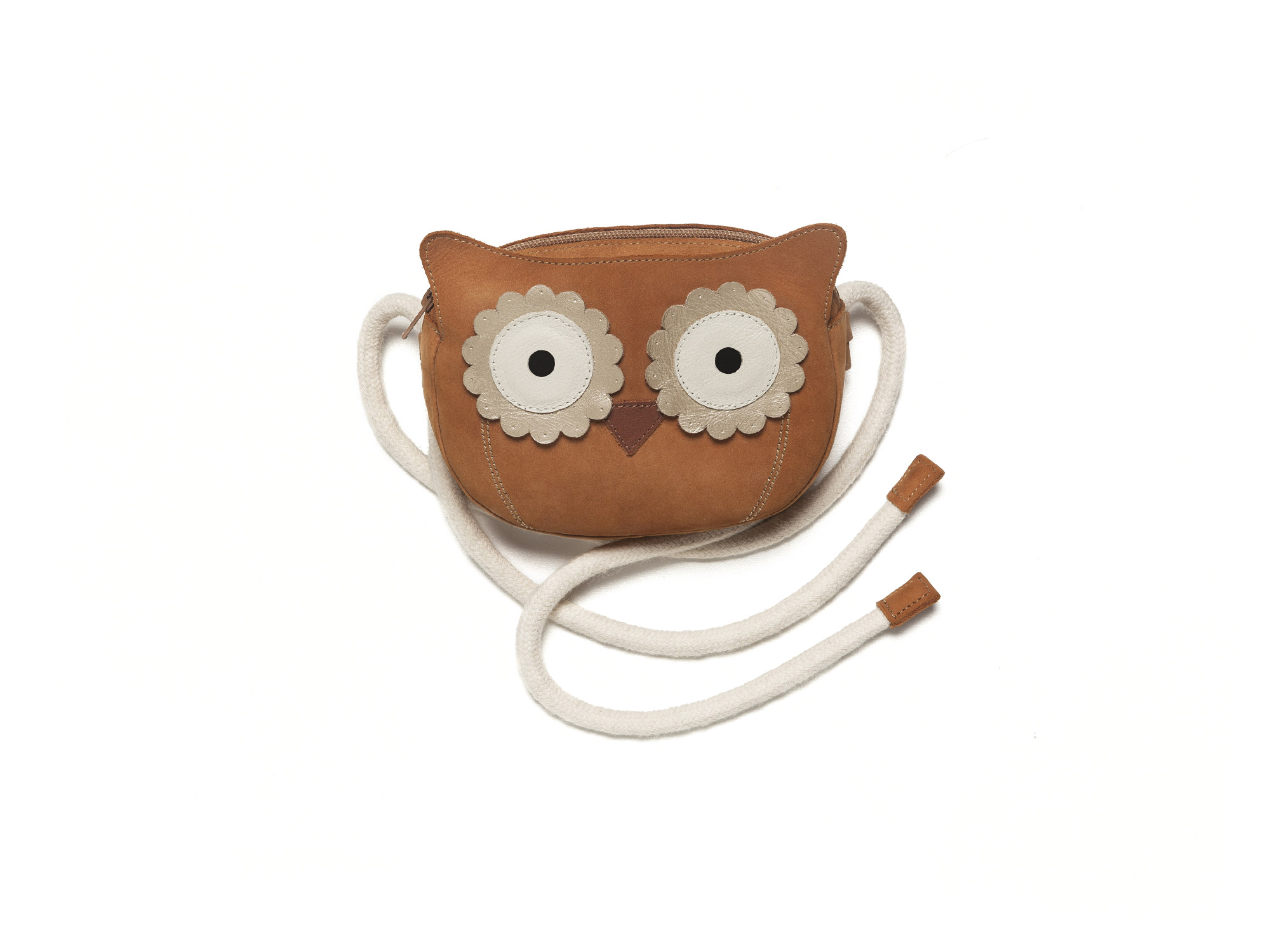 Handbag Bag Owl Ochre Baby for ages 0 to 2 years - 0