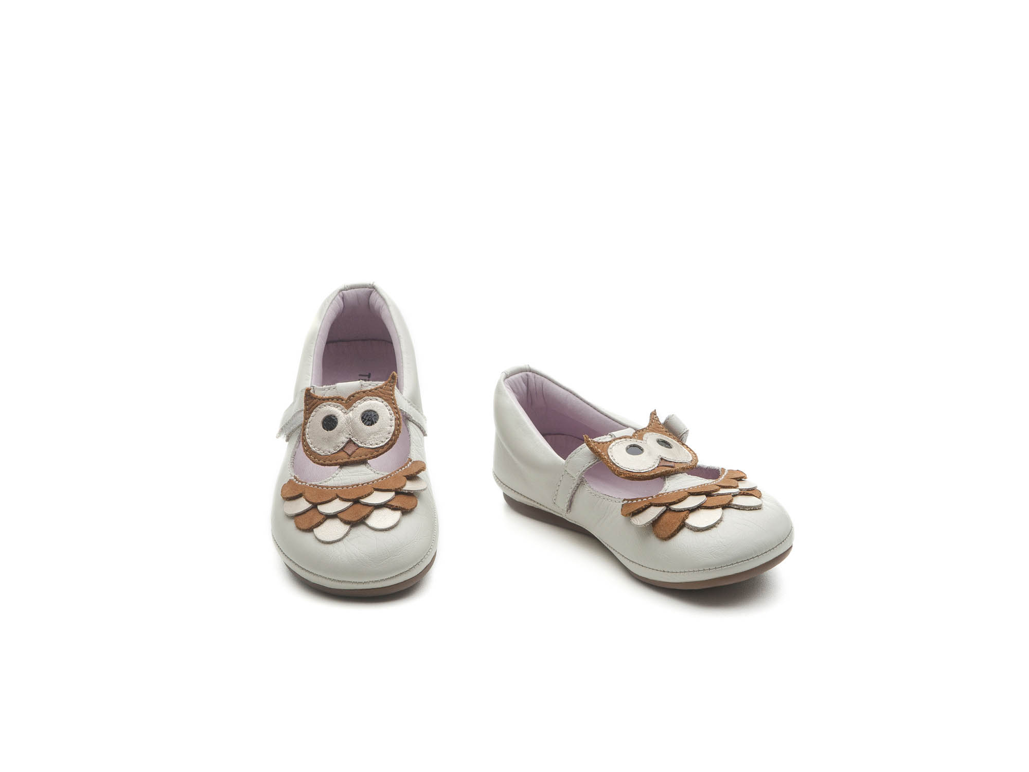 Mary Jane Little Owll Tapioca/ Ochre Toddler for ages 2 to 4 years - 1