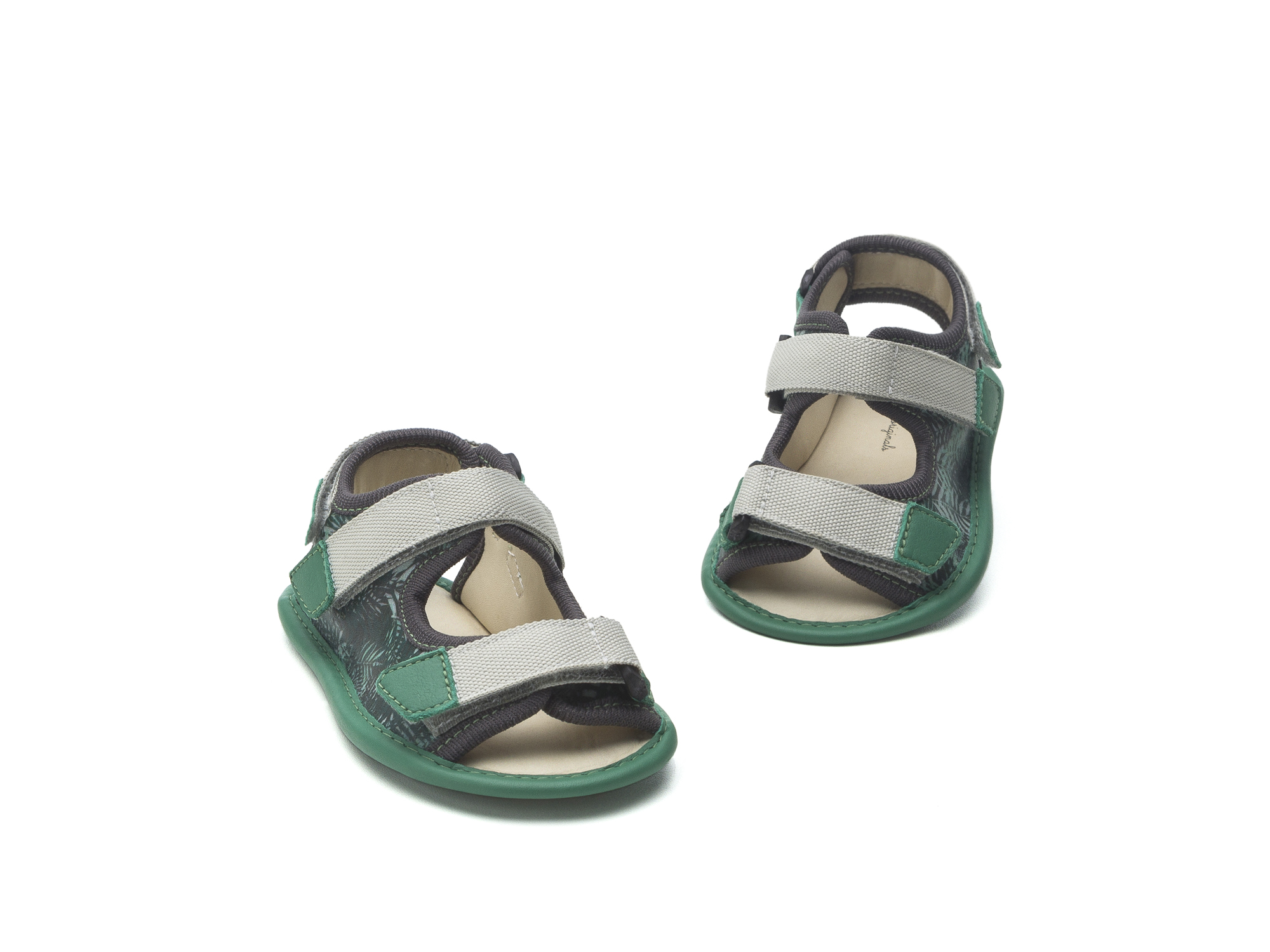 Sandal Boardy Green Palm/ Green Leaf Baby for ages 0 to 2 years - 2