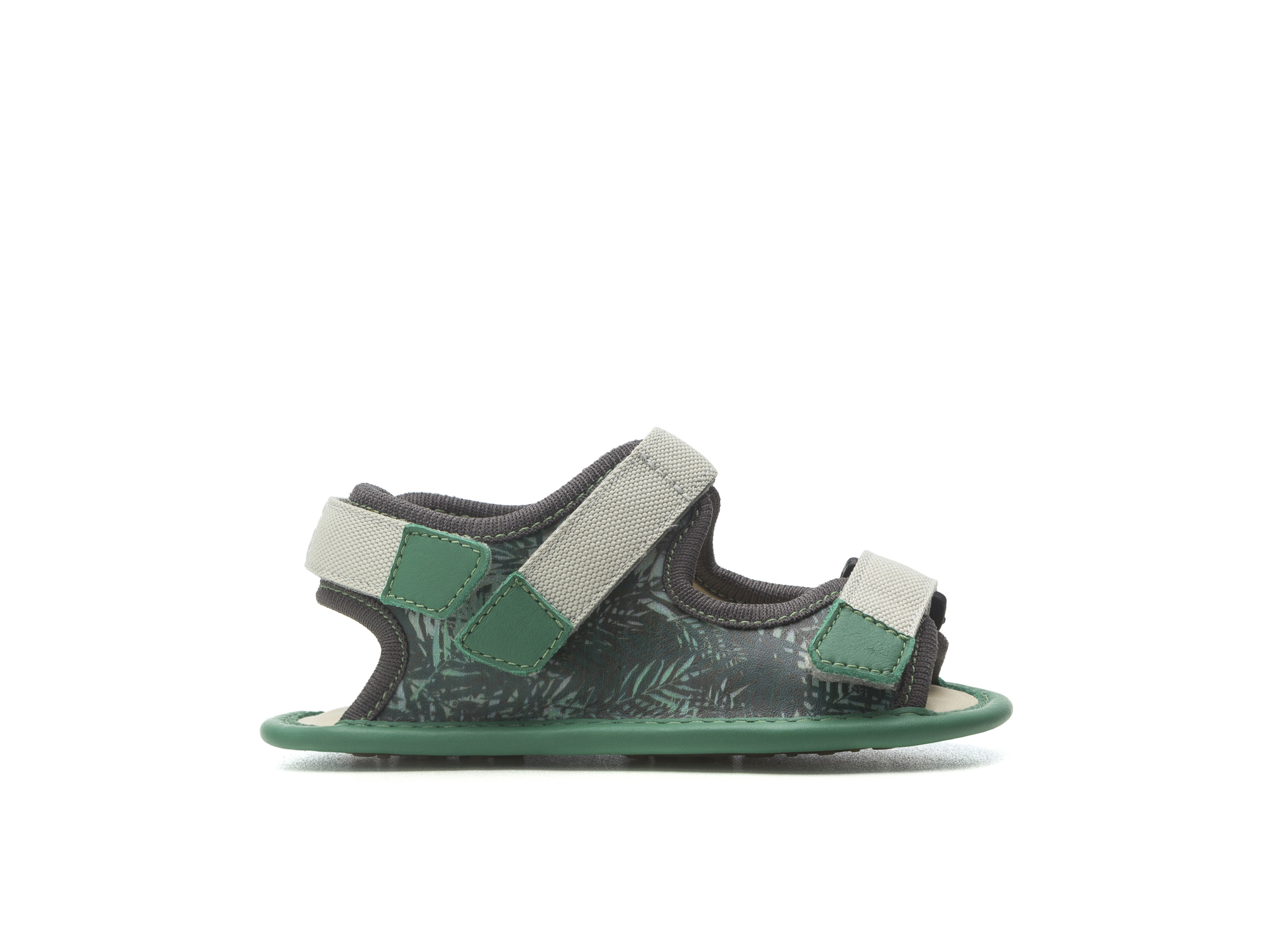 Sandal Boardy Green Palm/ Green Leaf Baby for ages 0 to 2 years - 1