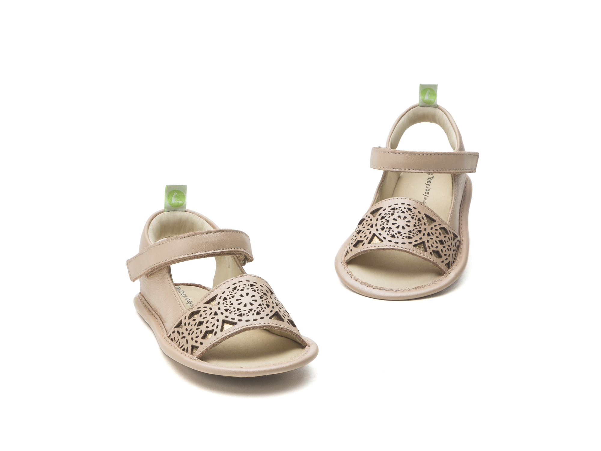 Sandal Mandaly Pink Perl/ Golden Shine Baby for ages 0 to 2 years - 2