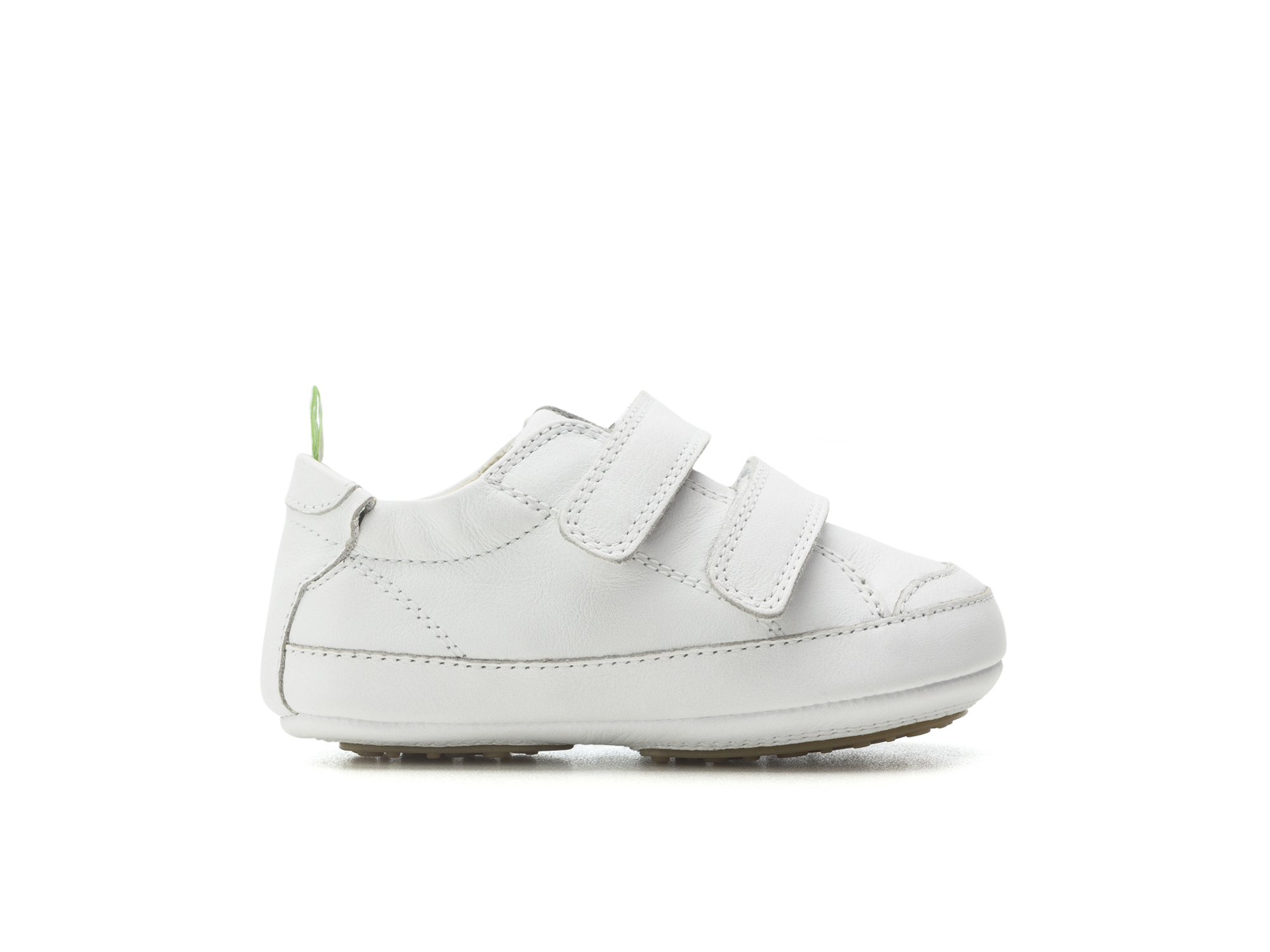 Tênis Bossy White/ White  Baby for ages 0 to 2 years - 1