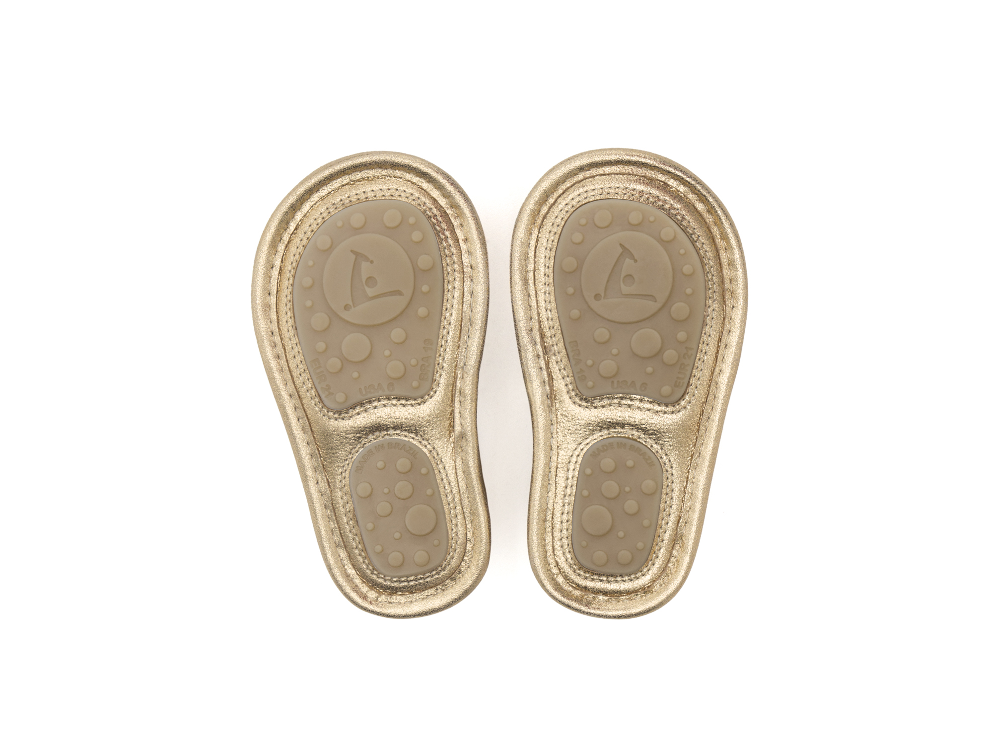 Sandal Minty Golden Shine Baby for ages 0 to 2 years - 3